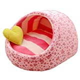 Yaloee Cute Slipper Design Pet Cat Dog Princess Bed Nest Washable Small Dogs Warm House Kennel Dog Bed
