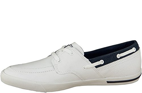 Lacoste - Ramer Boat - Couleur : Blanc - Taille : 44.5