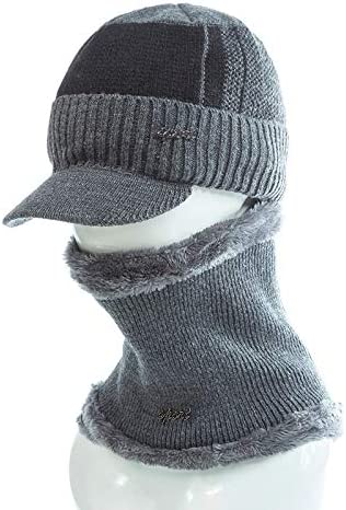 XJDMG Sombrero de Punto Wool Hat Gorra Unisex Caliente Invierno ...