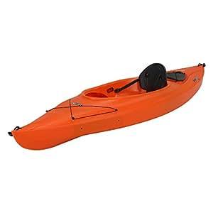 Amazon Com Lifetime Payette Sit Inside Kayak Orange 9