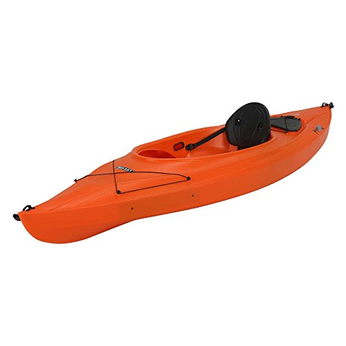 Lifetime Payette Sit Inside Kayak, Orange, 9 Feet 8 Inch
