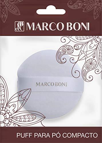 Puff Para Aplicação De Pó, Marco Boni, Branco