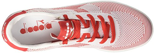 bianco Collo Basso Diadora Weave A B Bianco Uomo elite bianco Sneaker rosso Spw ZfqPYxZ