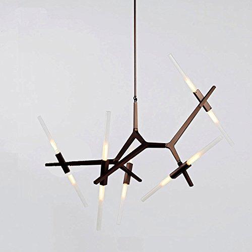 Black Astral Agnes Light Chandelier (10 Lights, Black)