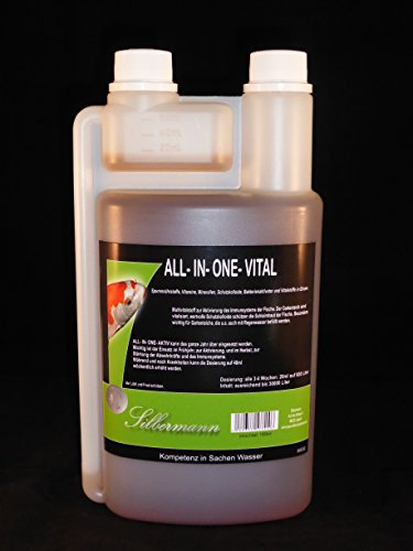 Silver Man All-in-One Vital Vitamins Minerals, Immune Booster for the Garden Pond, Available in a Range of Sizes