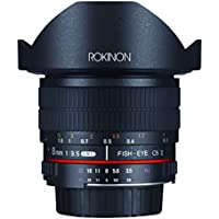 Rokinon FE8M-P 8mm F3.5 Fisheye Fixed Lens for Pentax (Black)