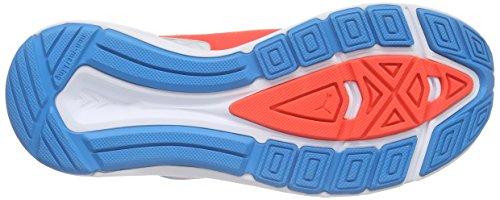 Puma Speed 300 Jr - Zapatillas de running Unisex niños Blanco - Weiß (white-atomic blue-red blast 01)