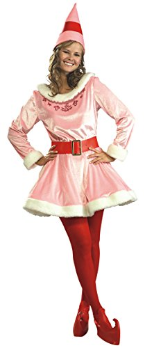 Deluxe Jovi the Elf Costume - Standard - Dress Size 6-12 -