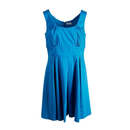 Women A Neck Calvin Klein Sundress Scoop Cerulean Line s HqBnafwx1
