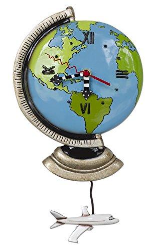 Allen Designs Globe Pendulum Clock ()