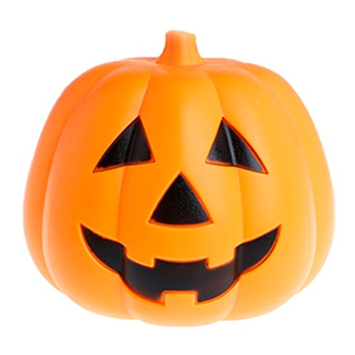 Jack In The Box Costume Head Diy (Gigory Halloween Pumpkin Lamp, Hallowmas Party Decoration Light&Voice Control With Bettery Smile Ghost Face Jack-O-Lantern)