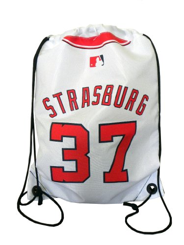 MLB Washington Nationals Stephen Strasburg #37 Drawstring Backpack