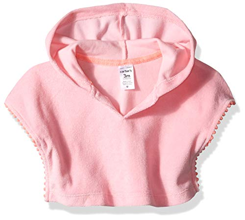 Carter's Girls' Swim Cover-up, Pink, 24 - Cover Carters Up