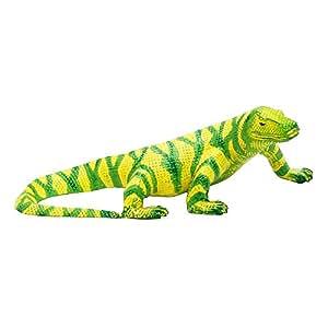 Achla diseños Chameleon jardín Estatua, verde