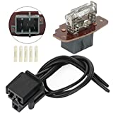 ANPART 4L5Z19A706AA HVAC Blower Motor Resistor With Harness fit for 1995-2001 Ford Explorer /2001-2005 Ford Explorer Sport Trac /1995-2011 Ford Ranger - AC Blower Control Module