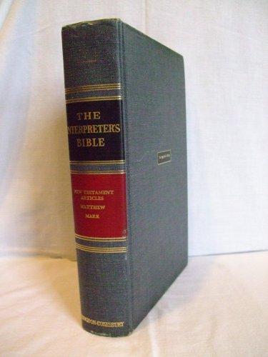 The Interpreter's Bible Volume 7