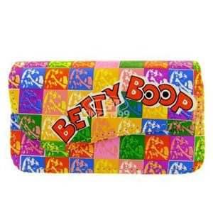 Cell Armor BBHPOPU0205 Small Rainbow Horizontal Pouch, Betty Squared Patterns