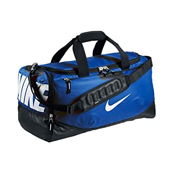 67c6a0c8fd Nike Men s Team Training Max Air Duffel Bag - Game Royal Black White ...