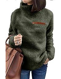 Sherpa Jacket Women Pullover Sweaters Fleece Sweatshirt...