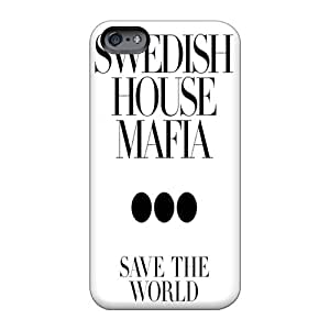 Protective Hard Phone Case For Apple Iphone 6s Plus With Customized Trendy Swedish House Mafia3 Skin Top10cases