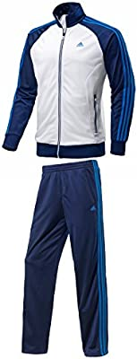 adidas Performance - Chándal para Hombre, Blanco/Azul Marino ...