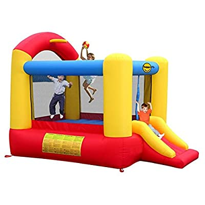 Ak Sport - 0751008 - Toboggan - Slide And Hoop Bouncer
