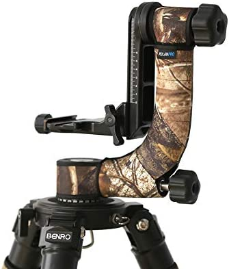 ROLANPRO Personality Tripod Head Camouflage Sleeve//Protective Case for Benro GH-2 GH-2C Wemberley WH-200 Gimbal Head Telephoto Bird Shooting