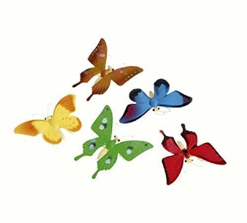 us-toy-detailed-toy-butterflies-assorted-breeds-novelty-2-pack-of-12