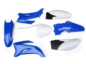 NEW YAMAHA TTR110 TTR 110 PLASTIC FENDER KIT BLUE V PS43