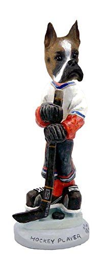 Boxer Hockey Player Doogie Collectable Figurine ()