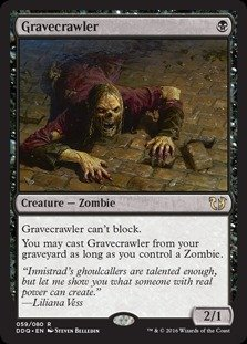 Magic: the Gathering - Gravecrawler - Duel Decks: Blessed vs Cursed by Magic: the Gathering