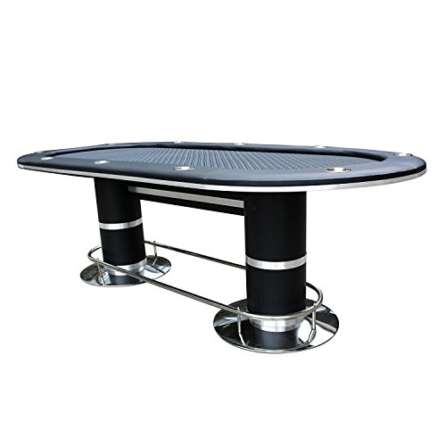 Ids professional solid double base poker table 10 players for 10 player poker table