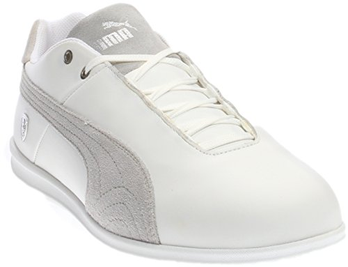 PUMA Men's Future Cat LS SF Fashion Sneaker, White/Gray, 10.5 M US