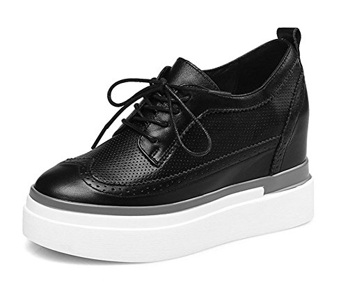 single shoes shoes in 2017 casual increase waterproof with leather shoes loosened Black inside new shoes thick the PUw6nqZP