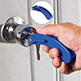 Pulison Key Turn Assistance Door Opening Assistance with Elderly and Disabled Arthritic Hand Grip for Bedroom or Bathroom