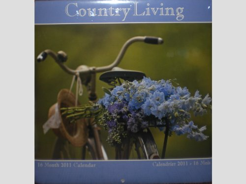 Country Living 16 Month 2011 Wall Calendar Apple Pie Rock...