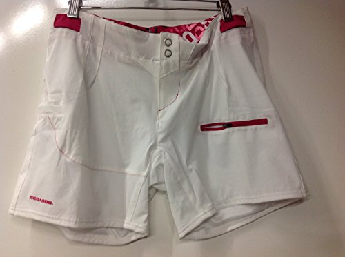 BRP Sea-Doo Ladies' Pulse Fashionable Boardshorts WHITE SIZE 8