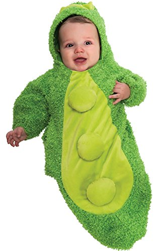 Rubie's Costume Chenille Pea In The Pod Bunting Costume, Green, -