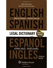 Essential English/Spanish and Spanish/English Legal Dictionary: Essential Edition