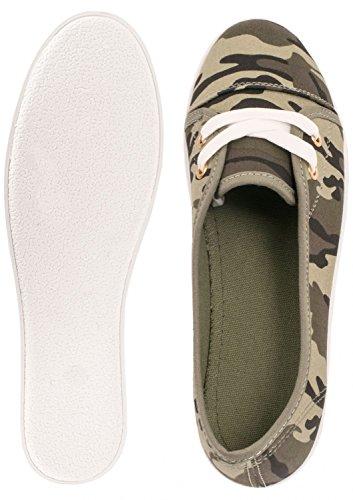 Elara - Zapatillas Mujer Dk Green