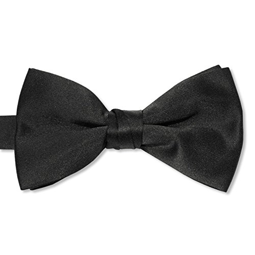 Red Satin Bow Tie (Satin Bow Tie (Mens, Black))