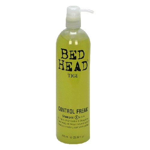 TIGI Bed Head Control Freak Shampoo, Frizz Control and Straightener, 25.36-Fluid Ounce (750 ml) (Bed Head Control Freak Frizz Control Straightener)