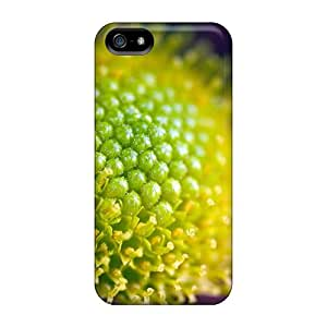 Iphone 5/5s Case Cover - Slim Fit Tpu Protector Shock Absorbent Case (flower Zoom)