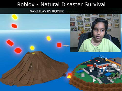 (Clip: Roblox - Natural Disaster Survival - gameplay by Hrithik )