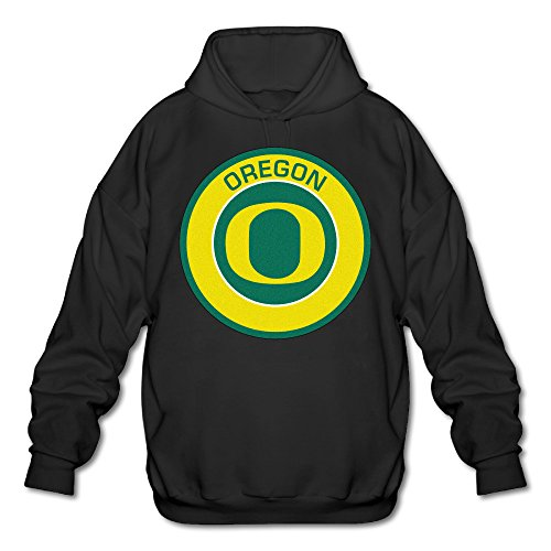 AUSIN Men's University Of Oregon Hoodies Black Size L (Clicks Playmobil)