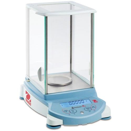 Ohaus Adventurer Pro AV114C Analytical Balance with InCal Internal Calibration, 110g Capacity, 0.1mg Readability, 0.1mg Repeatability