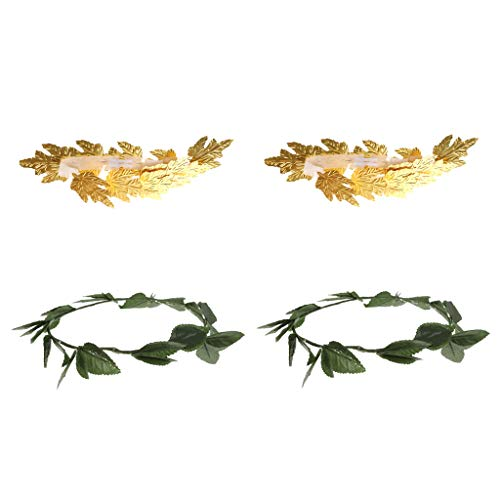Fenteer Pack of 4pcs Goddess Toga Greek Roman Gold for sale  Delivered anywhere in Canada