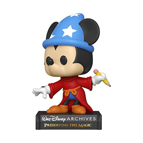 Funko- Pop Disney Archives-Apprentice Mickey Figura Coleccionable, Multicolor (49891)