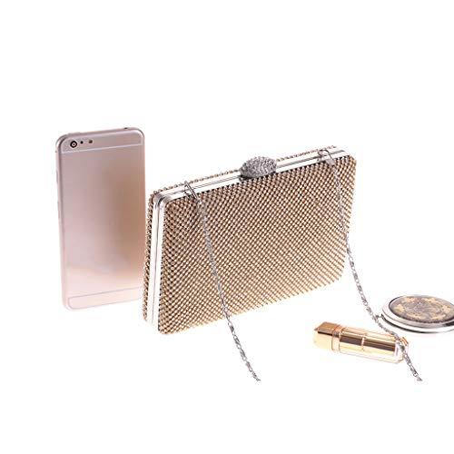 Paquete La América Oro Banquete Liu Personalidad Mujeres Del Europa Embragues Moda Noche Las De Yu·casa Creativa Móvil Bolso Teléfono Y qOTREgx