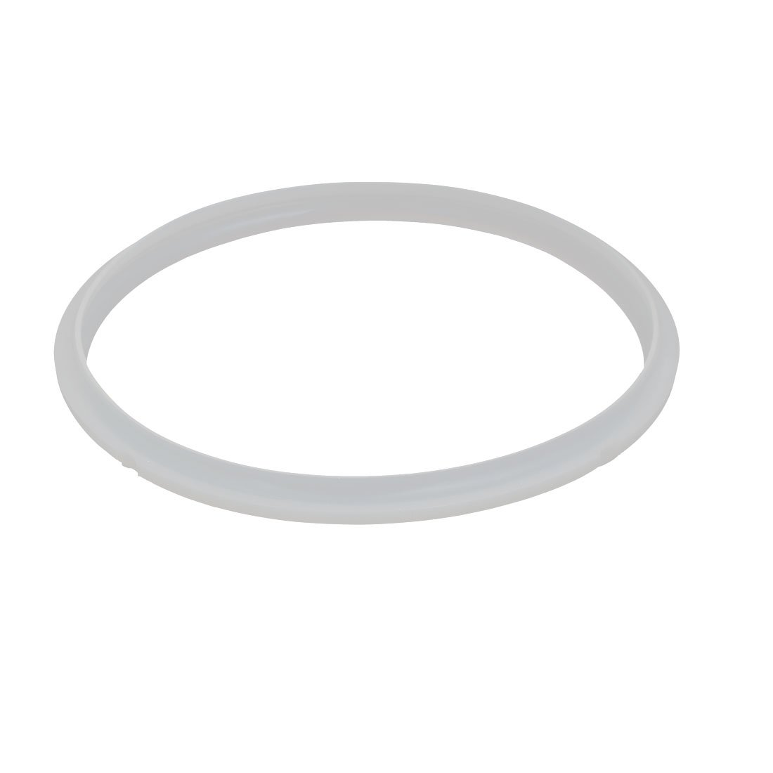 uxcell 22cm Inner Dia Household Kitchen Pressure Cooker Rubber Pot Sealing Ring Clear a17060100ux0144